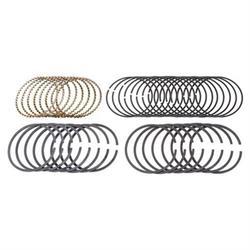 Speedway Plasma Moly Piston Rings, 4.125 Bore, Style C