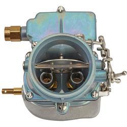 Primary 9 Super 7® 3-Bolt 2-Barrel Carburetor, Plain Finish