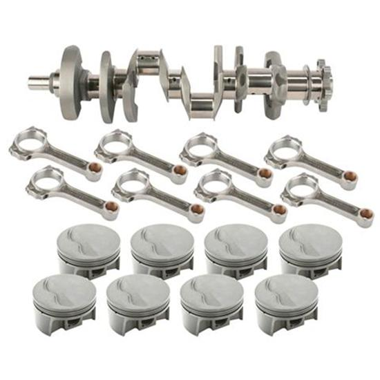 Light Forged S/B Chevy Assembly-434 Dome-6 Rod-350 Mains- 030 OS