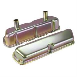 Small Block Ford Steel Valve Covers with Breather