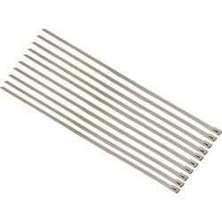 Speedway Stainless Steel Exhaust Wrap Ties, 14 Inch