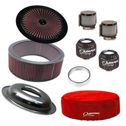 Speedway Motors Complete Air Cleaner/Outerwear Filter Kit