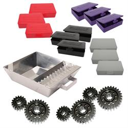 Speedway Motors Quick Change Gear Service Kit, Polished LW Gears