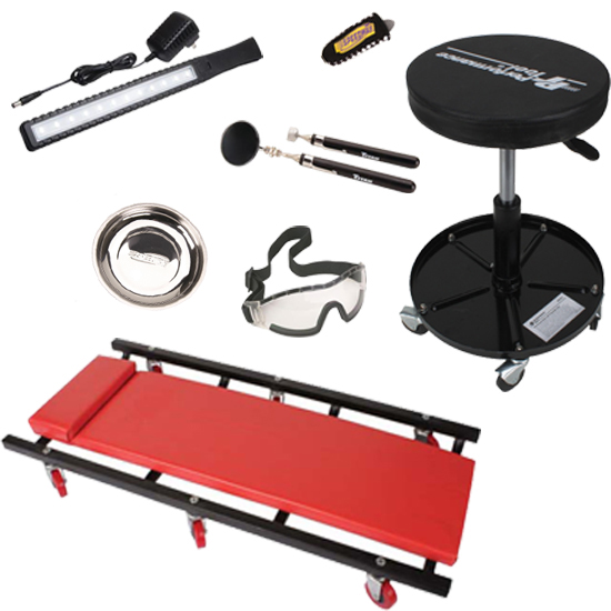 Speedway Motors Garage Essentials Tool/Equipment Kit