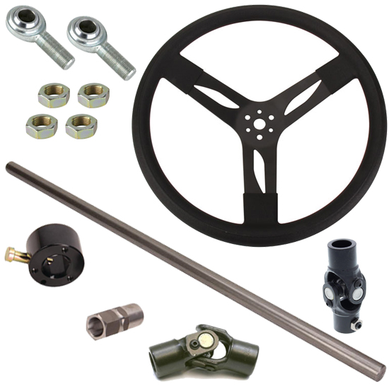 Speedway Motors Demo Derby Steering Column Kit, Crown Vic