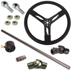 Speedway Motors Demo Derby Steering Column Kit, 78-96 Fullsize GM