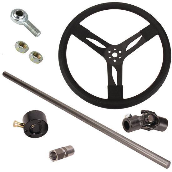 Speedway Motors Demo Derby Steering Column Kit, 72-78 Ford