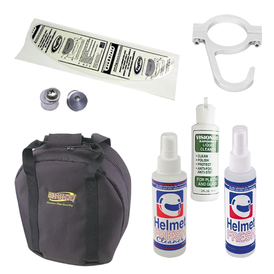 Speedway Motors Helmet Care and Accessory Kit
