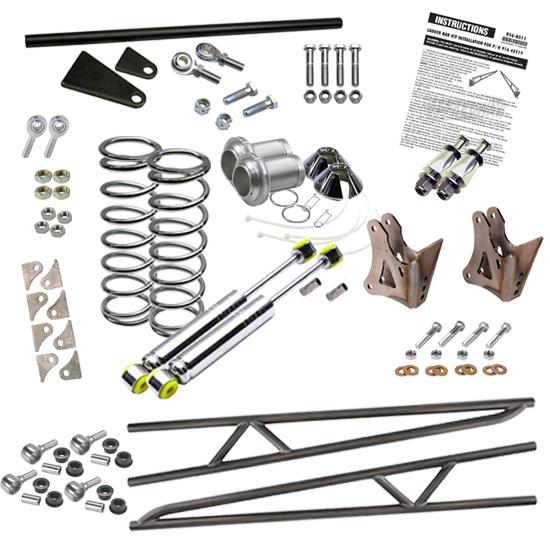 Speedway Motors Ladder Bar Rear Suspension Kit 38 Inch