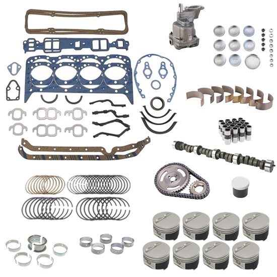 Speedway Motors Claimer SBC Engine Rebuild Kit