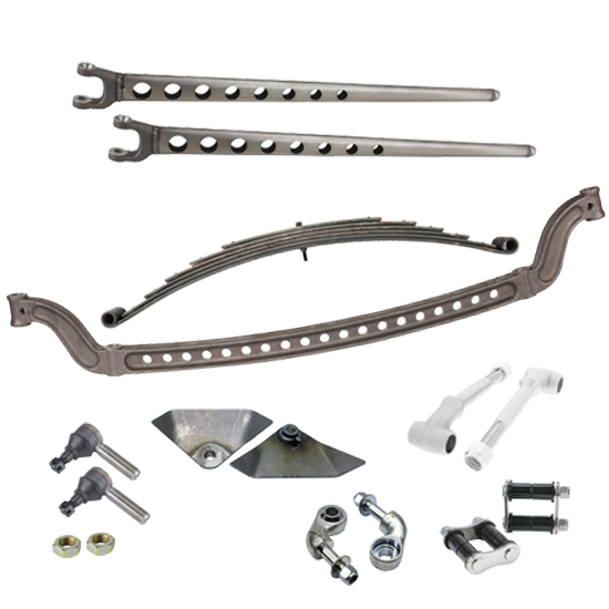 Speedway Motors Straight Axle Front Suspension Kit,Drilled I-Beam