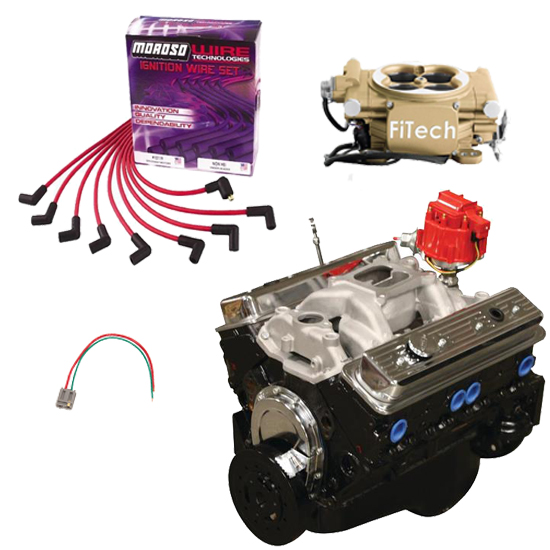 BluePrint Budget SBC 355 Crate Engine Package, FiTech EFI