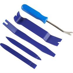 5-Piece Trim, Clip and Panel Removal Tool Kit