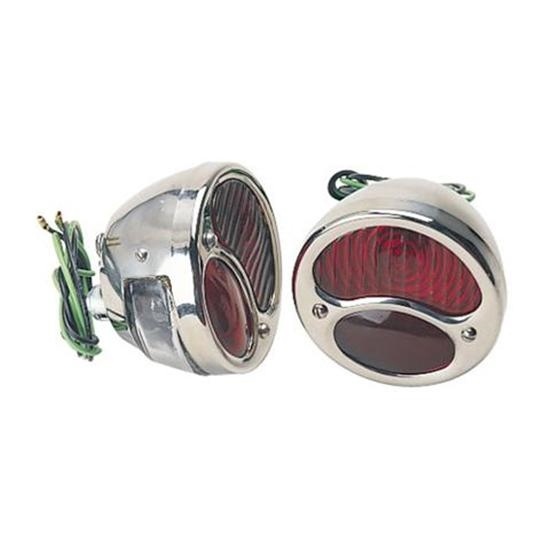 1928 1931 Ford Model A Stainless Steel Taillight Kit