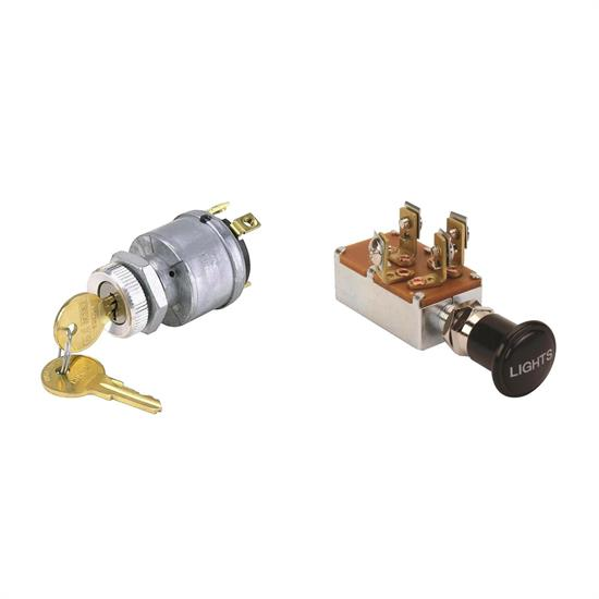 Universal Ignition and Headlight Switch Kit