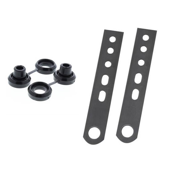 7 Inch Exhaust Hangers with Bushings Kit