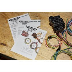 Deluxe Universal 22 Circuit Wiring Harness with Install Package