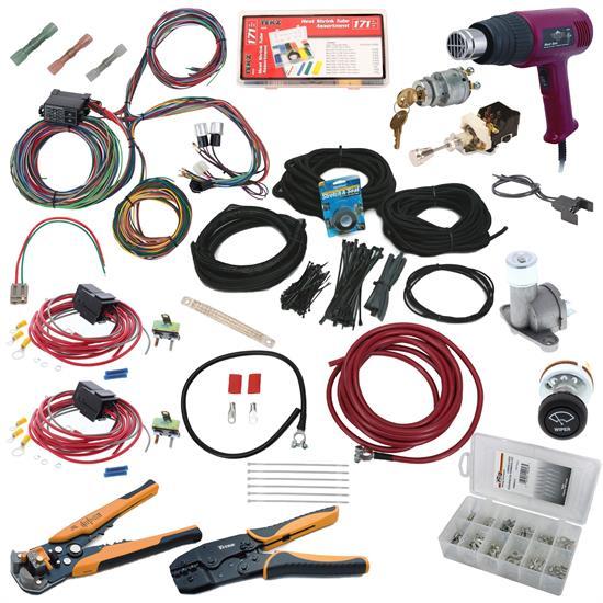 10201 Painless 18 Circuit Universal Streedrod Wiring