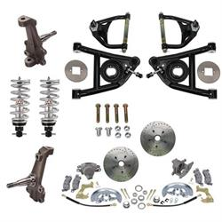 Speedway 1964-67 A-Body Complete 2 Inch Drop Front Suspension Kit