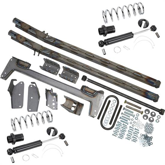 G-Comp 1960-72 Chevy C10 Coilover Truck Arm Rear Suspension Kit