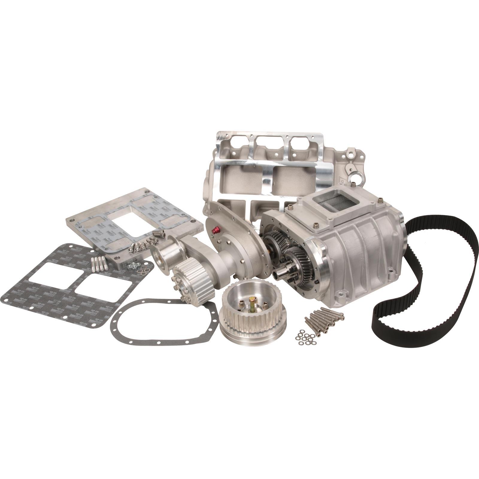 Dyer's Blowers PLAIN SBC 4-71 Supercharger Kit, Plain