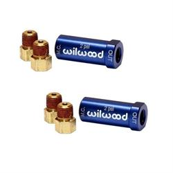 Wilwood Residual Pressure Valve & Fittings Kit, Blue, 2 PSI