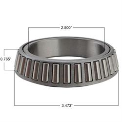 Grand National Hub Replacement Bearing and Bearing Race Kit