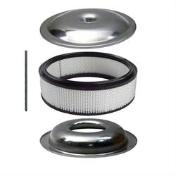 Sure Seal Oversized Filter Housing & Air Filter Element Kit,14 In
