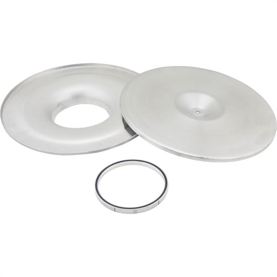 14 Inch Mini Velocity Stack Flat Base Air Cleaner Lid/Base