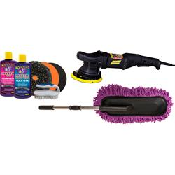 Wizards Products Scratch & Swirl Remover Kit with DA Polisher
