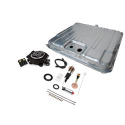 1964-67 Chevelle Self-Tuning EFI and Fuel Tank Kit Black