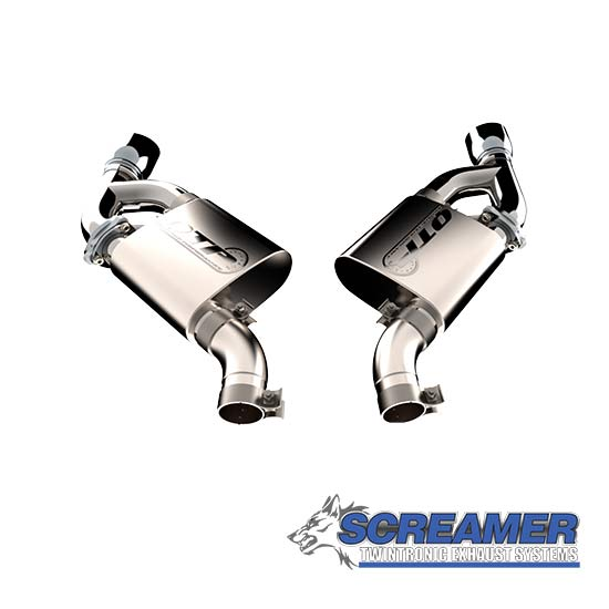QTP 400116 Screamer Exhaust System, Axle Back, Kit