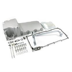 LS Engine Retro-Fit Oil Pan, Aluminum, Rear Sump