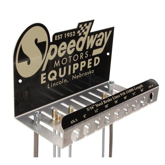 Speedway brake line holder greentooth Gallery
