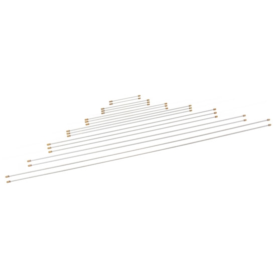 Speedway 3/16 Inch Steel Brake Line Assortment