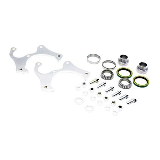 Basic Disc Brake Kit, 1969-77 GM Caliper to Ford Spindle, 5 on 4-1/2In