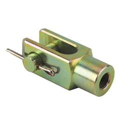 Speedway 3/8 Inch Fine Thread Steel Clevis End