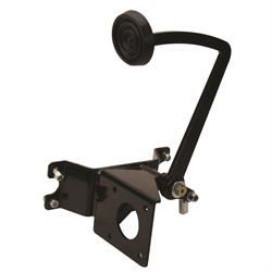Speedway Black Universal Brake Pedal/Master Cylinder Frame Bracket