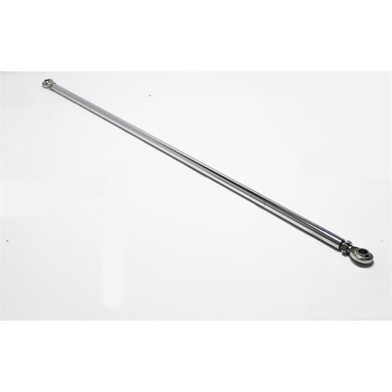 Garage Sale - 45.5 Inch Chrome Tie Rod Kit, 5/8 Inch Heims
