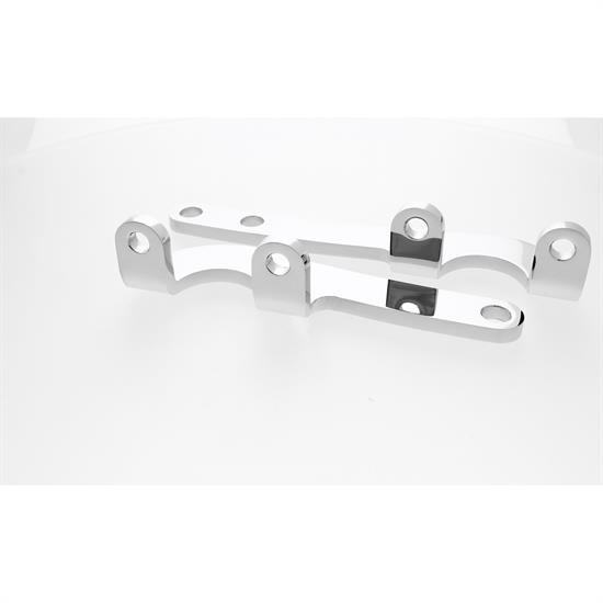 Ford Flat Plate Steering Arms, Chrome