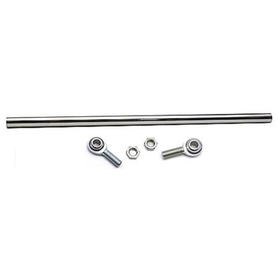 Chrome Tie Rod/Drag Link Kit with 5/8 Heim Rod Ends