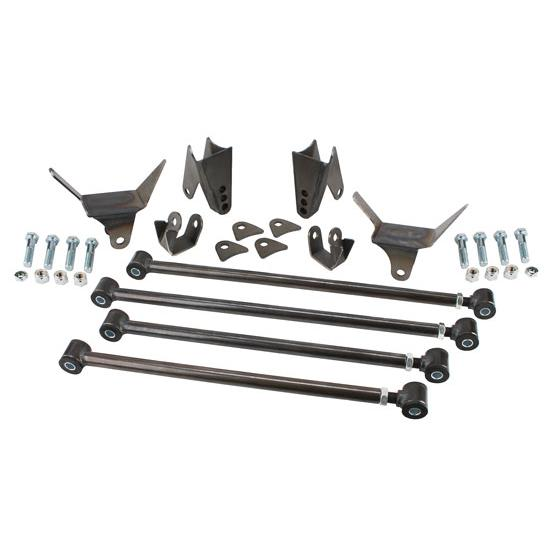 Speedway 1932 Ford Triangulated Rear 4-Link Suspension Kit