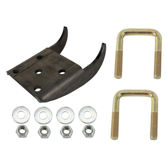 Front Frame Leaf Spring Perch Kit, Low Ride Height