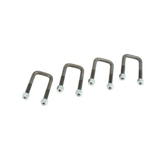 Speedway 1948-56 Ford Half-Ton Front Axle U-Bolts, Set/4