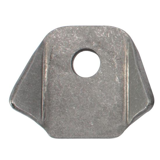 Eagle Motorsports® Fuel Cell Tab, ATL Lower Tab, 3/8 Inch Hole