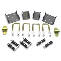 Semi-Elliptical Straight Axle Kit for Chevy Spindle