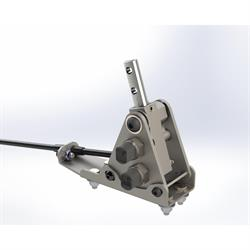 Side Detent Shifter for GM TH200, TH250, TH350, and TH400