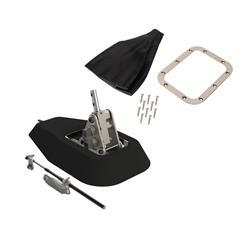 Lokar ATS6727GM 16 Auto Trans Shifter Kit with Bench Bend Lever and Polished Mushroom Knob