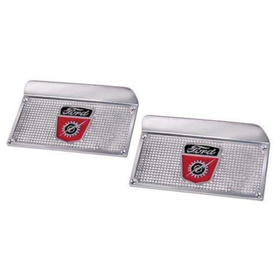 1953-56 Ford F100 Pickup Step Plates