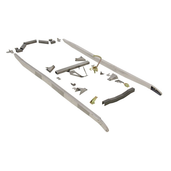 Speedway U-Weld Ford Model A Frame Rail Assembly Kit